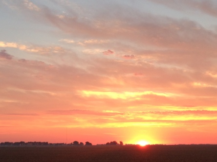 Central IL sunrise