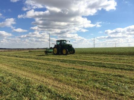 Tractor and MoCo Demo to Biddick Farms