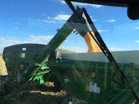 Trying to fit 1100 bu in a 700 bu cart