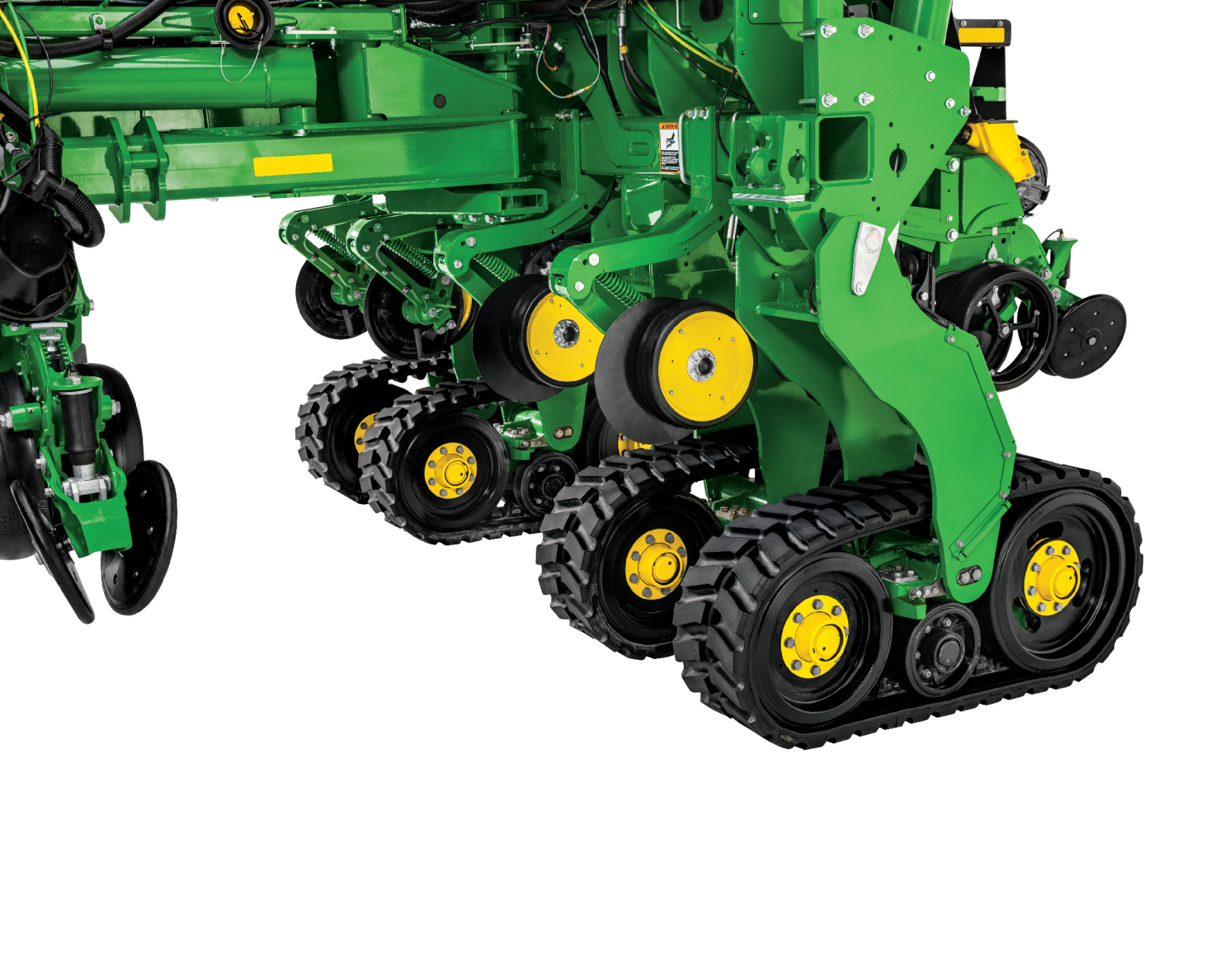 Factory Installed Tracks on MY 2022 JD 1775 NT Planters